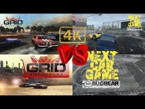 DERBY comparision Figure 8 Grid Autosport vs Next Car Game 4K Ultra settings review