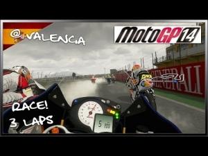 MotoGP 14 Gameplay - Moto3 (Miller - KTM) Race! @ Valencia