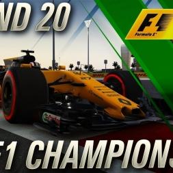 F1 2017 | FIA F1 Championship FINALE Abu Dhabi