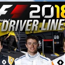 FORMULA 1 2018 SEASON FULL GRID & DRIVER LINE UP'S