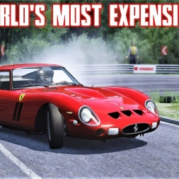 Hooning The World's Most Expensive Car! - Ferrari 250 GTO - Real Head Motion - Assetto Corsa