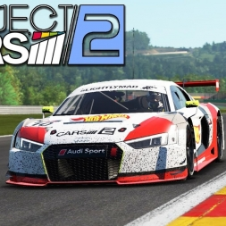 Project CARS 2 - Audi R8 LMS at Spa-Francorchamps (PT-BR)