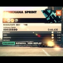[DIRT3: Complete Edition] - Subaru Impreza WRX STI GR - Gymkhana Sprint - Logitech G27 - FHD@60