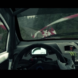 [DIRT3: Complete Edition] - Ford Fiesta RS Rally - Gas it Out - Wet Rally - Logitech G27 - FHD@60