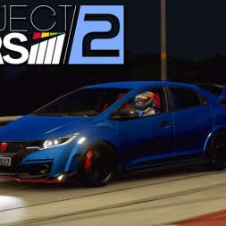 Project CARS 2 - Honda Civic Type R Euro Spec at Bannochbrae (PT-BR)