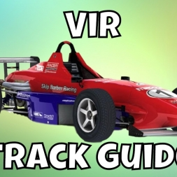 iRacing Skip Barber Track Guide - Virginia International Raceway S4 2017