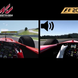 Assetto Corsa vs. F1 2017 - Ferrari F2004 @ Red Bull Ring