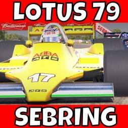 iRacing Lotus 79 at Sebring