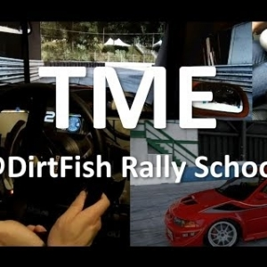 Mitsubishi Evo 6.5 TME Rallycross at DirtFish Rally School - Project CARS 2