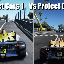Project Cars 1 Vs Project Cars 2 Comparison - Which is the best ? (4k)