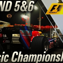 F1 2017 CLASSIC MONACO AT NIGHT!!!