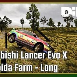 Dirt 4 - Mitshubishi Lancer Evo X - Nymboida Farm - Long