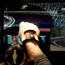 pC2 - Brands Hatch - Chevrolet Camaro - 100 AI race - Stormy weather