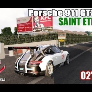 SAINT ETIENNE en PORSCHE 911 GT3 CUP