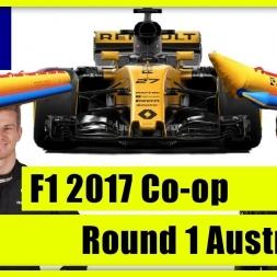 TwinRaGe Youtube Co-op Championship F1 2017 - Round 1 Australia