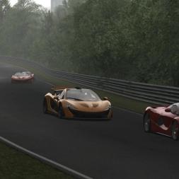 [Assetto Corsa 1.3.4] - McLaren P1 - Nordschleife - Alien Race - Logitech G27 - FHD@60