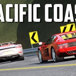 Pacific Coast (revisit) - Assetto Corsa road mod - Oculus rift gameplay