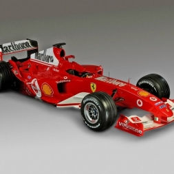 Assetto Online: Ferrari F2004 at .... Mt. Akina!!