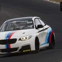 Assetto Corsa - BMW M235i at Brands Hatch - SRS (PT-BR)
