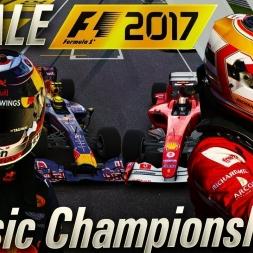 F1 2017 CLASSIC FINALE ME VS LECLERC