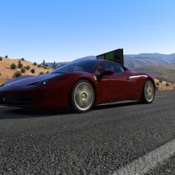 [Assetto Corsa 1.5.4] - Black Cat County - Odd traffic! - G27 - FHD@60