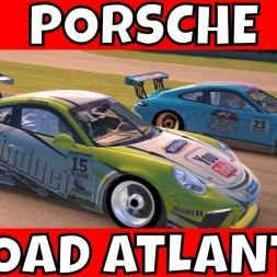 iRacing Porsche 911 GT3 Cup at Road Atlanta