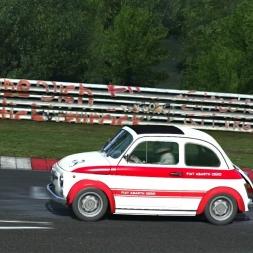 [Assetto Corsa 1.6.3] - Abarth 595 SS - Patcha Pack v1.1 - Logitech G27 - FHD@60
