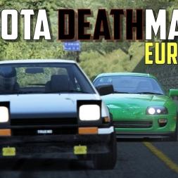 Akina Downhill TOYOTA DEATHMATCH Supra vs. AE86 - ft. Bunta -⭐ Eurobeat ⭐- Assetto Corsa Oculus Rift