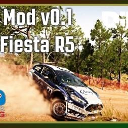 Dirt 4 - RFPE Mod v0.1 - Ford Fiesta R5
