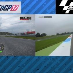 MotoGP 17 vs Real Life - Assen Onboard