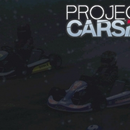 Karting in Blizzard on Rallycross Track at Night - Project Cars 2
