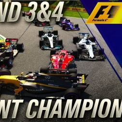 F1 2017 LAST TO FIRST CHAMPIONSHIP