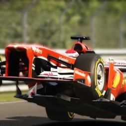[Assetto Corsa 1.8.1] - Ferrari F138 - Nordschleife - 5.26.987 - Logitech G27 - FHD@60