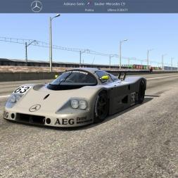 [Assetto Corsa 1.8.1] - Mercedes-Benz Sauber C9 - Drag 2000m - Logitech G27 - FHD@60