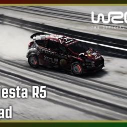 WRC 7 - Ford Fiesta R5 - Sweden - Karlstad