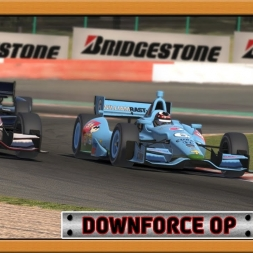 """iRacing: Downforce OP"" (Verizon IndyCar Series at Circuit de Spa-Francorchamps"""