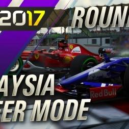 F1 2017 Career Mode Round 15 MALAYSIAN MADNESS