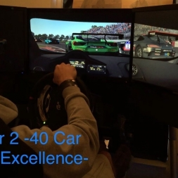 rFactor 2 - GT3 @ Montreal - 40 Car Grid - almost faultless Ai -