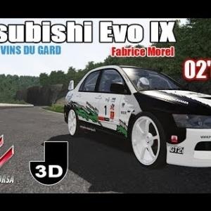 Rallye des Vins du GARD : COLLIAS en Mitsubishi Evo IX