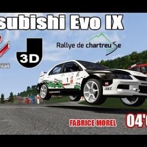 Mitsubishi Evo IX - RALLYE DE CHARTREUSE