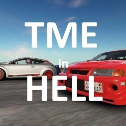 Mitsubishi Evo 6.5 TME, Lånkebanen Rallycross, Hell, Norway. Project CARS 2