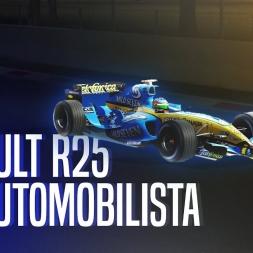 Automobilista   Renault r25 - Monza lap