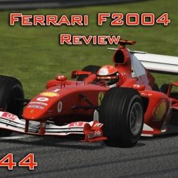 Assetto Corsa | Ferrari F2004 Review (Ferrari Pack DLC) | Episode 144