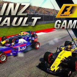 F1 2017 Carlos Sainz RENAULT GAMEPLAY USA GP