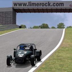 Automobilista | Caterham Superlite @ Lime Rock Hotlap 0:56.952 | xDevildog