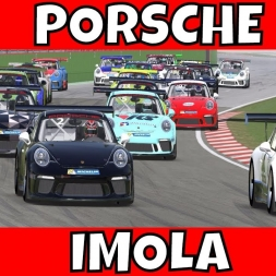 iRacing Porsche 911 GT3 Cup at Imola