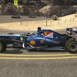[Assetto Corsa 1.9.2] - Ferrari F138 - Patcha Pack 1.1/1.2 - Black Cat County - AI race - FHD@60