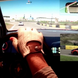 pC2 - Knockhill Racing Circuit - Clio Cup - ACE AI race