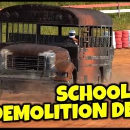 School Bus Demolition Derby - Wreckfest