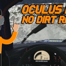 DIRT RALLY ON RIFT THROWING MUD AT MY FACE